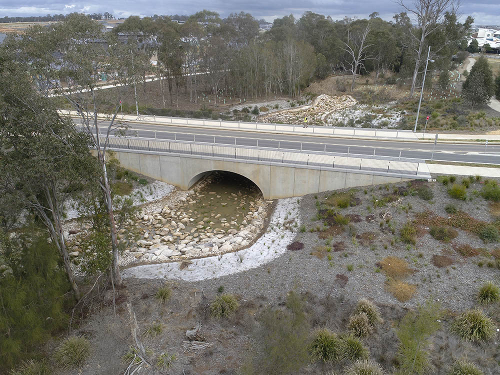 Oran Park Bebo Arch Creek Crossing