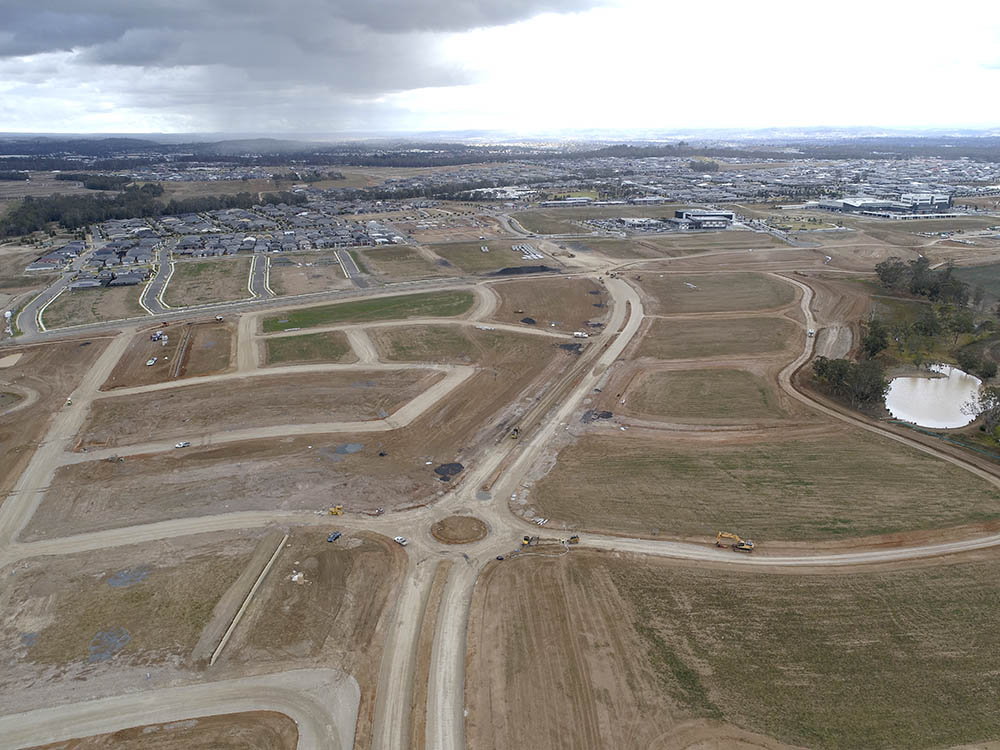 Oran Park Tranche 27 Subdivision